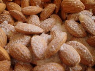 Sea Salt on Almonds