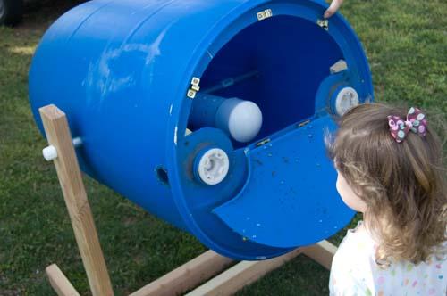 Diy Repurposed Tumbling Composter Megan Tietz
